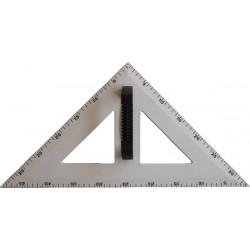 45 degree plastic triangle