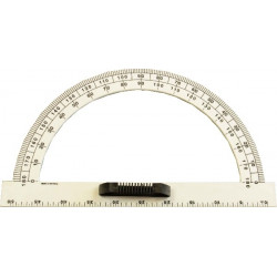 50 cm plastic protractor