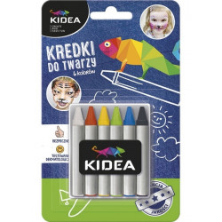 KIDEA Face Colors Set 6,...