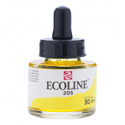 Ecoline TALENS LEMON YELLOW 205 Ink