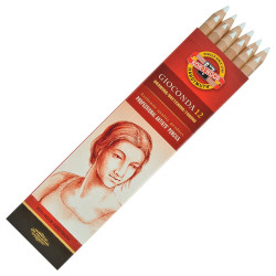 Pencils white chalk box 12...