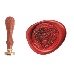 Seal for heart Seal Wax