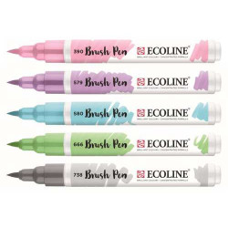 Μαρκαδόροι TALENS ECOLINE BRUSH PEN PASTEL