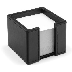 Cube leather OSCO black