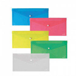 Envelope with 13x25 cm button