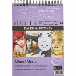 Μπλοκ MIXED MEDIA DALER ROWNEY A4, 250gr