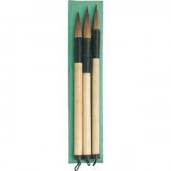 Set of 3 calligraphy brushes 577086
