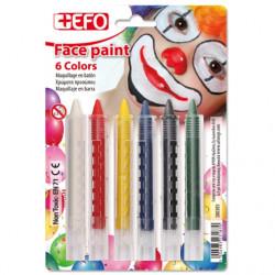 Χρώματα προσώπου EFO STICKS...