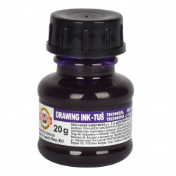 Lila KOH-I-NOOR ink 20ml