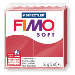 Πηλός FIMO SOFT 56gr CHERRY RED  No 26