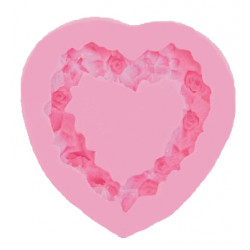 Silicone Heart Mould 0515095