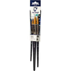 VAN GOGH watercolor brushes set of 3 pieces 90919134