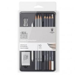 Sketch WINSOR & NEWTON 10pcs painting set