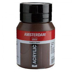 Ακρυλικό TALENS AMSTERDAM 409 BURNT UMBER 500ml