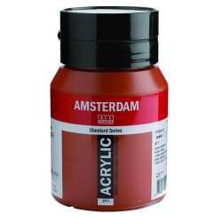 Ακρυλικό TALENS AMSTERDAM 411BURNT SIENNA 500ml
