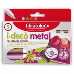 I-DECO METAL FIBRACOLOR, 5-color set