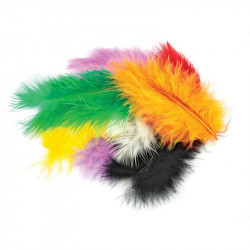 MARABOU Coloured wings 6-10cm