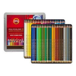 POLYCOLOR 48 Painting Pencils