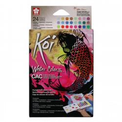 SAKURA KOI watercolorset 24...