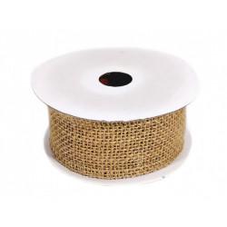 Ribbon linen 4cmx5m