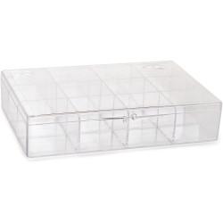 Κουτί πλαστικό με χωρίσματα 12 θέσεων
