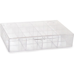 Plastic box with 12-seat...