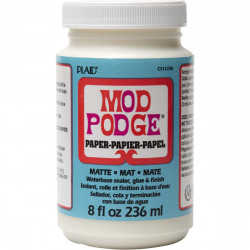 MOD PODGE ACID FREE MATT 236ml varnish