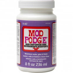 MOD PODGE HARD COAT SATIN 236ml varnish