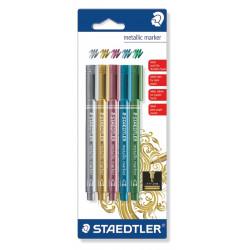 METALLIC STAEDTLER Markers 8323-BK5
