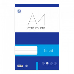 Pad A4 striped 50 sheet...