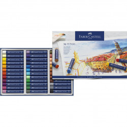 Faber-CASTELL 36-color oil...
