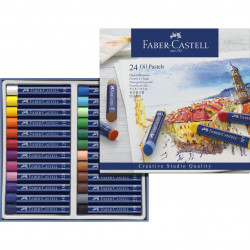 Faber-CASTELL 24-color oil...