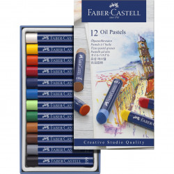 Faber-CASTELL 12-color oil...