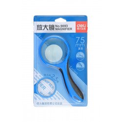 Magnifying glass DELI No9093, 75mm