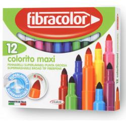 FIBRACOLOR COLORITO MAXI 12