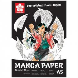 Μπλοκ SAKURA MANGA PAPER A5, 250g