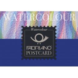 FABRIANO POSTCARD PAD WATERCOLOUR, A6 17105148