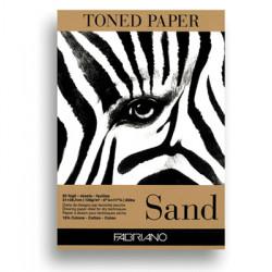 Μπλοκ FABRIANO TONED PAPER SAND A4 19100496