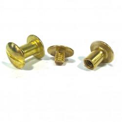 Metal screws for 5mm menu,...