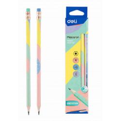 Pencil with eraser DELI...