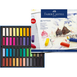FABER CASTELL SOFT PASTEL MINI CREATIVE STUDIO 48