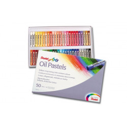 Oil pastel PENTEL set of 50...