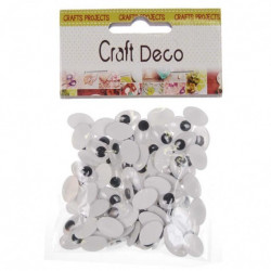 _ EYES OVAL CRAFT DECO MIX,...
