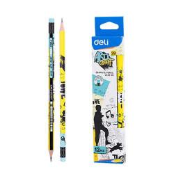 Pencil with eraser 12ad...