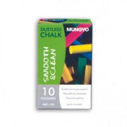 Κιμωλίες χρωματιστές MUNGYO 10 τεμάχια