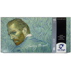 Set of VAN GOGH oils,...