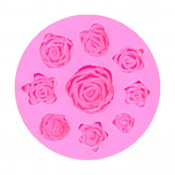 ROSES Silicone Mould, 0515098