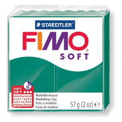 Clay FIMO SOFT 56gr EMERALD...
