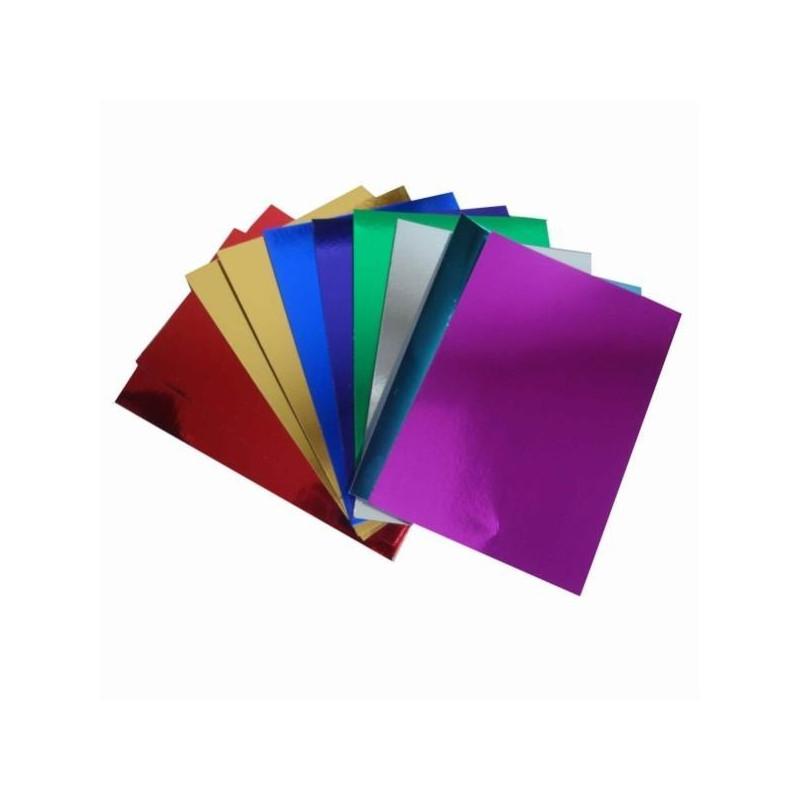 Χαρτόνι μεταλιζέ διπλής όψης 50x70