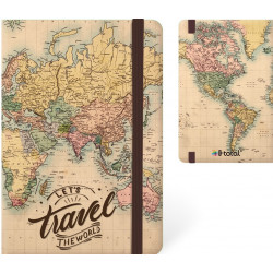 Total GIFT MAPS A5 Notebook